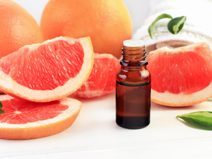 Pink grapefruit essential oil recipes